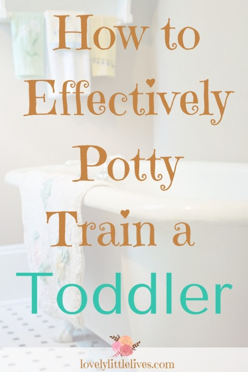 How to Potty Train a Toddler #toddlers #pottytrainingtips #toliettraining