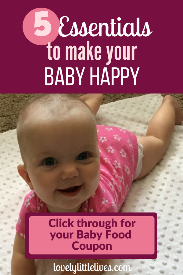 5 Essentials to make your 6 Month Old Baby be Happy #sponsored by happy family brands #organicbaby food #healthybaby #thisishappy