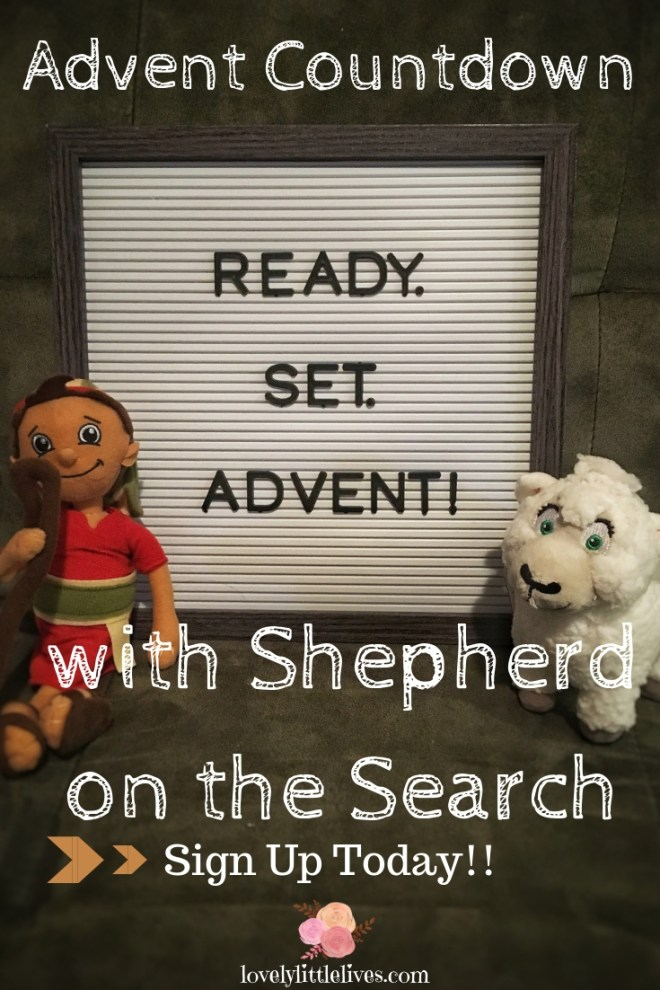 Shepherd on the Search Advent Countdown #shepherdonthesearch #shepherdonthesearchactivities #shepherdonthesearchideas #adventcountdown #christmascountdown #countdowntochristmas Click through to sign up for the Advent Countdown with the Shepherd!