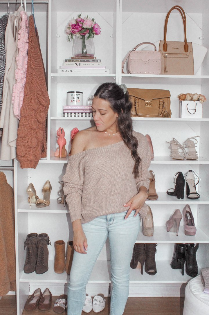 SHOP Neutral Knit Sweaters