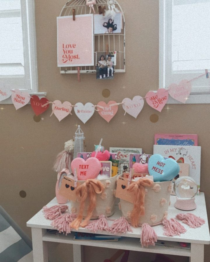 Valentines Day Gifts & Baskets for The Littles