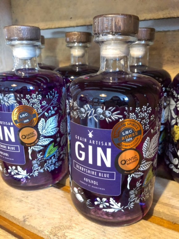 Derbyshire gin