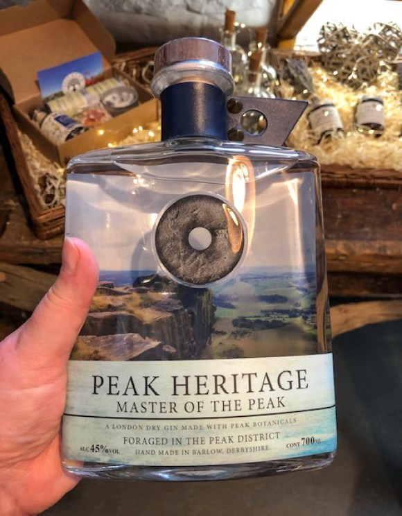 Derbyshire gin - Reap and Sow's Peak Heritage brand celebrates the heritage, landscape and communities of the Peak District
