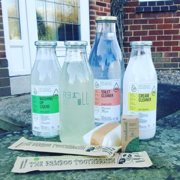 Derby eco businesses - zero waste delivery