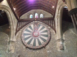 The Round Table in the Great Hall.