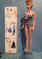 First Barbie doll from 1959.