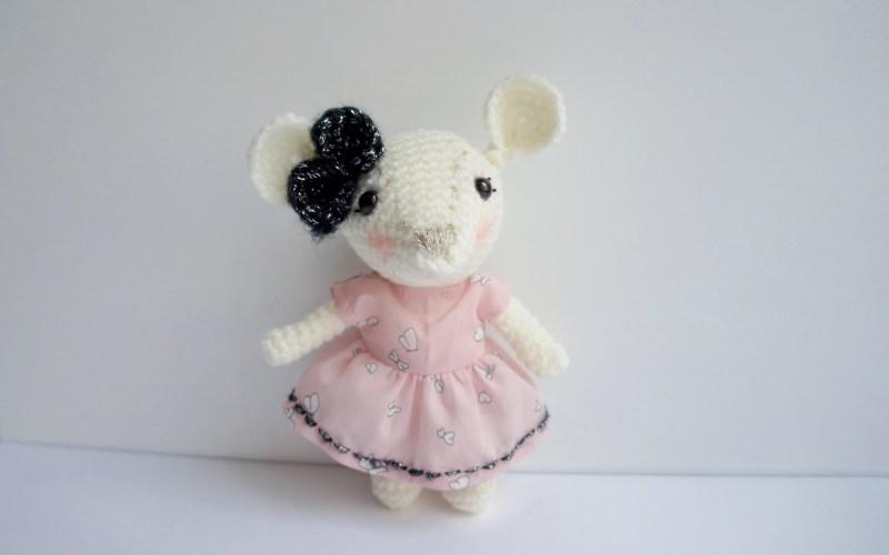 Petite Souricette Au Crochet Lovelyoupi