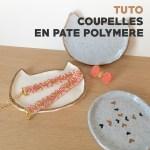 """DIY – Petites coupelles """"chat"""" en pâte polymère"""