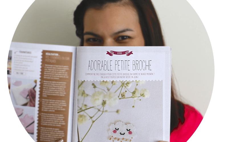 Tuto créative magazine tissage perles