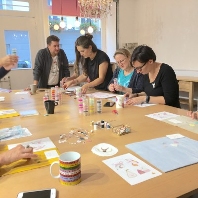 Workshop brick stitch - Lovelyoupi aux Ateliers Rrose Sélavy (Paris)