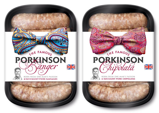 Porkinson Sausage Packaging
