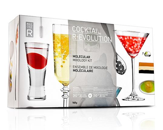 Cocktail R-Evolution, Kit de Mixología Molecular (1/4)