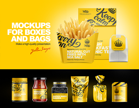 Download Packaging Psd Files Yellowimages