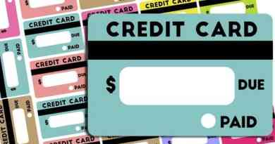 Free Credit Card Bill Reminder Stickers - Printable & Cut File