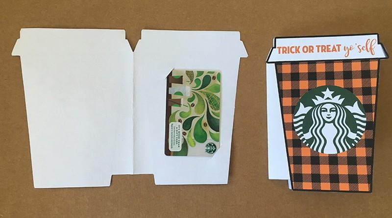Trick Or Treat Yo Self Starbucks Gift Card Holder Free