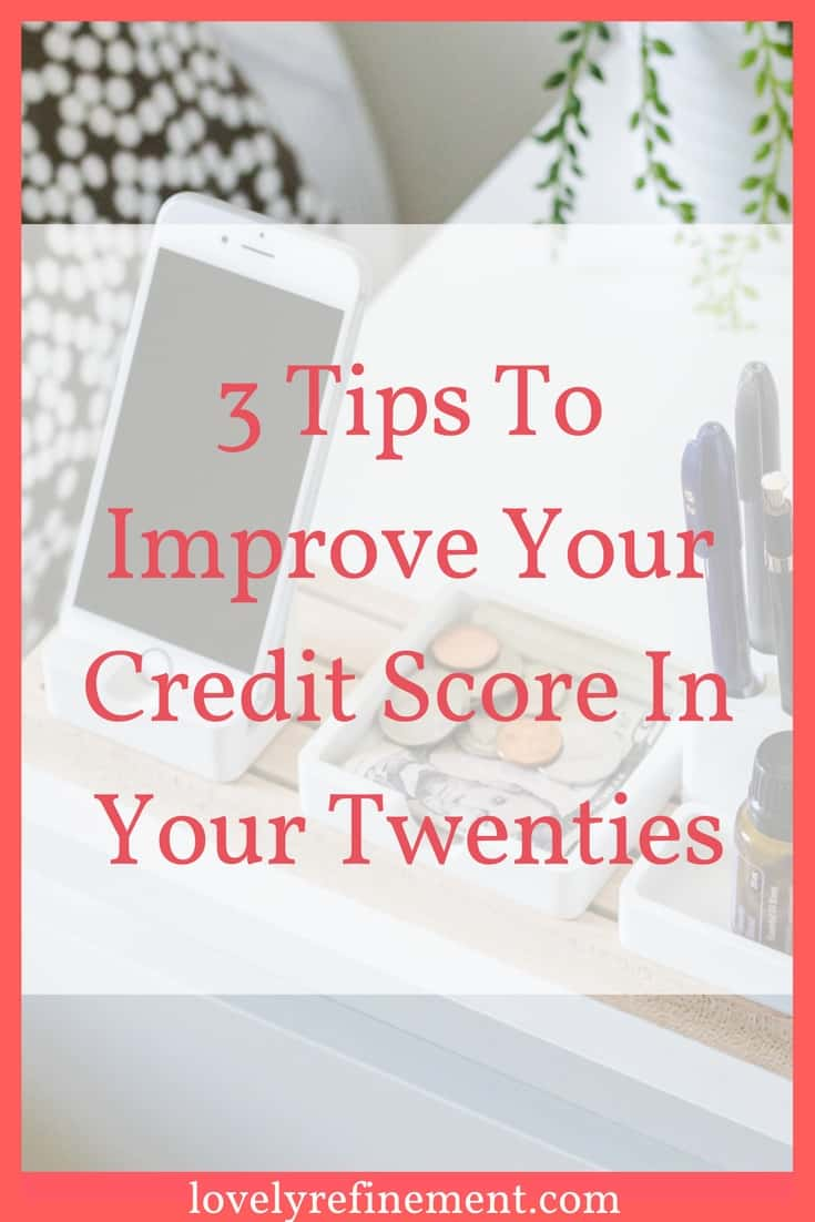 Here are some ways to start improving your credit score. Trust me, it is possible! And it won't take years before you start to see a difference.