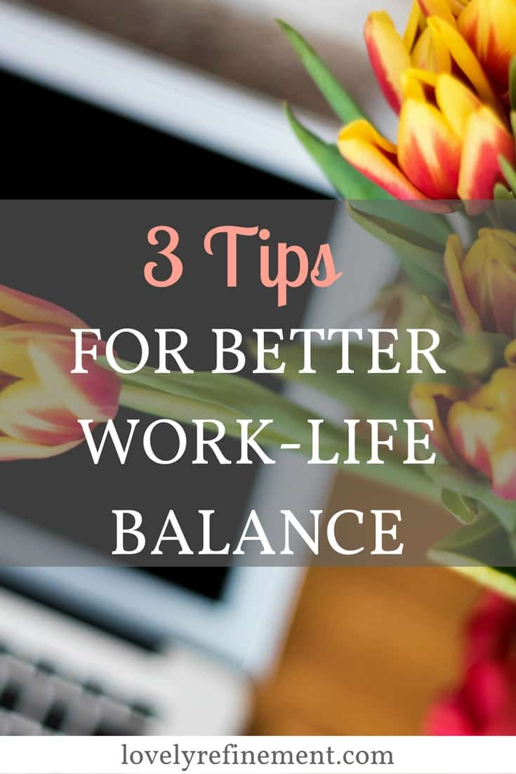 Here are some ways you can have a work-life balance and focus more on what matters to you! Time-management | Productivity | Career Advice