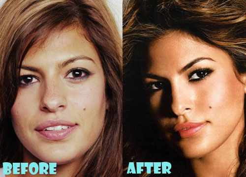 Eva Mendes Plastic Surgery Nose Job