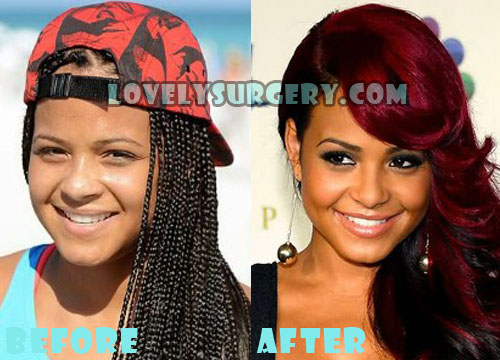 Christina Milian Plastic Surgery Nose Job