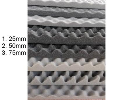 Egg Crate Acoustic Foam Various Sizes Resized