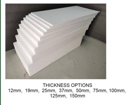 Polystyrene Foam Various Sizes Resized