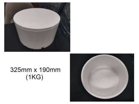 Ice Cream Box 1kg 325mm x 190mm
