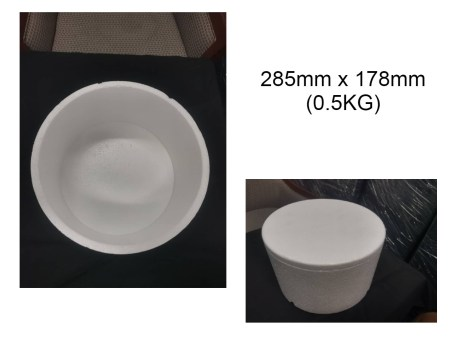 Ice Cream Box or Frozen Box Resized 0.5kg