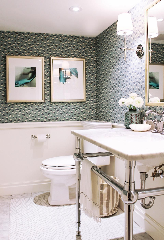 Wainscoting Chair Rail Only Bathroom Design