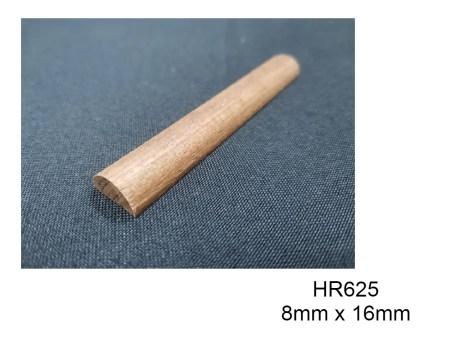 HR625 Half Circle Wood Moulding