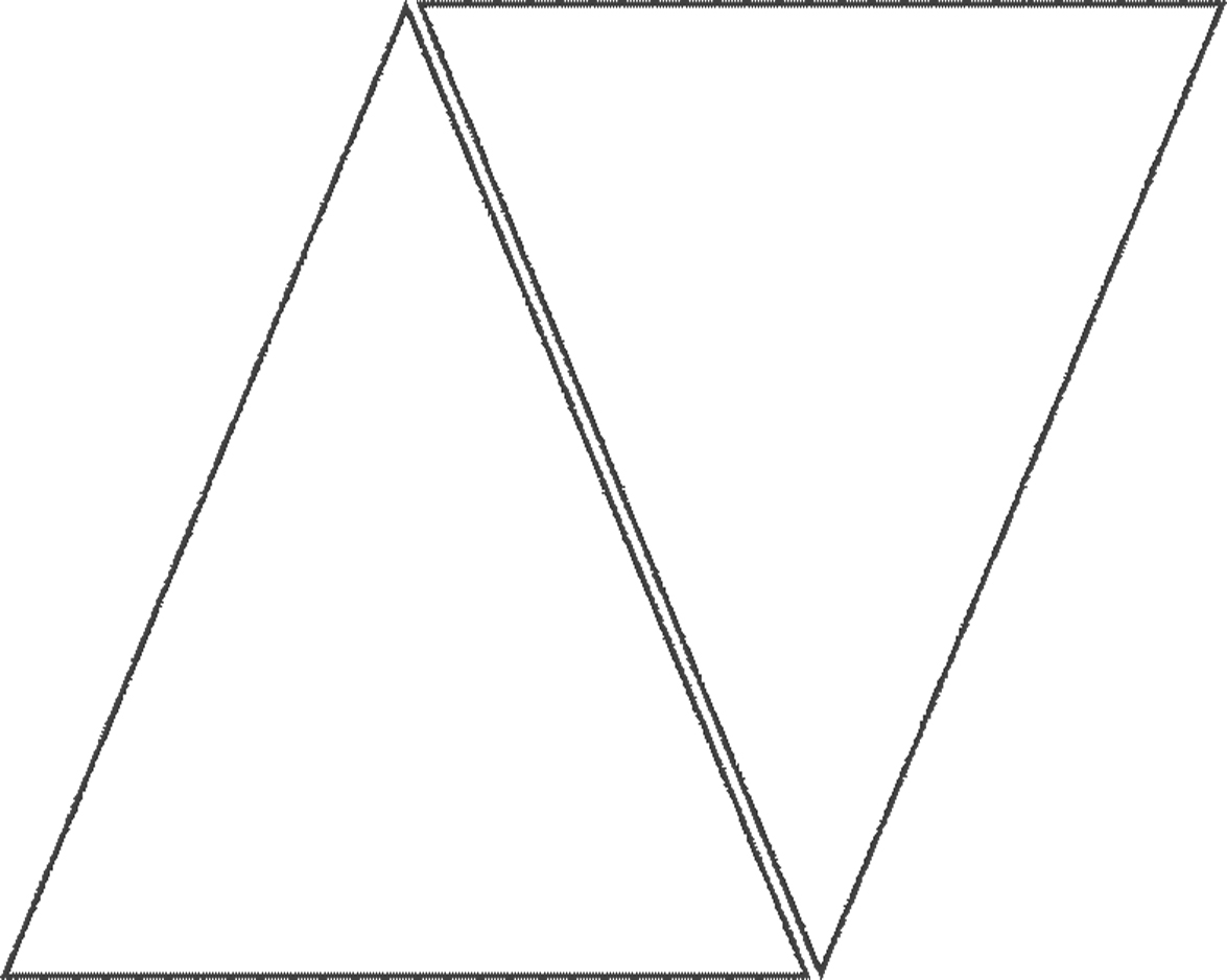 Triangle Template For Banner With Images