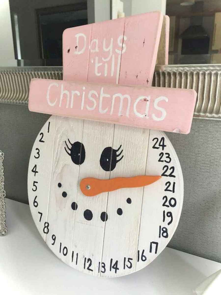 0014 Awesome DIY Wooden Christmas Craft Ideas