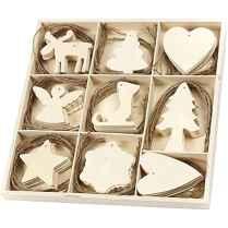 0026 Rustic DIY Wooden Christmas Ornaments Ideas