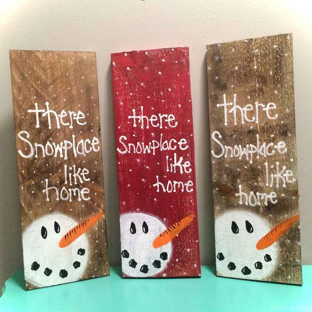 0043 Awesome DIY Wooden Christmas Craft Ideas