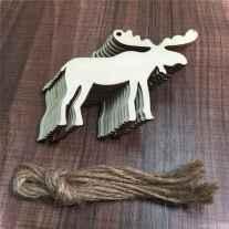 0069 Rustic DIY Wooden Christmas Ornaments Ideas