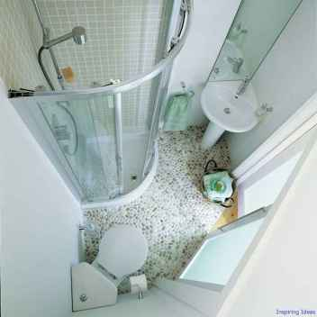 038 Clever Small Bathroom Design Ideas
