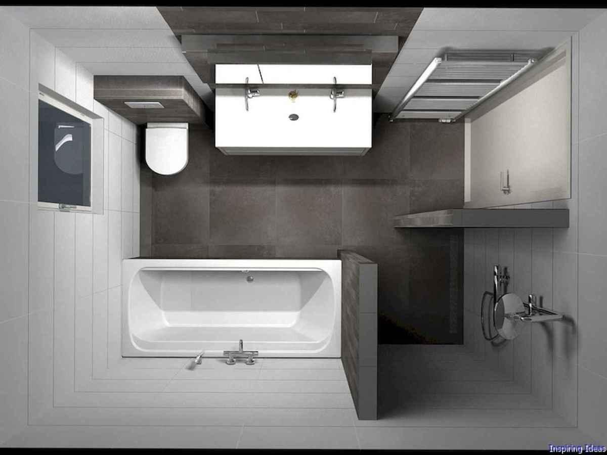 050 Clever Small Bathroom Design Ideas