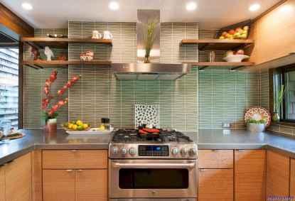 060 Best Midcentury Kitchen Backsplash Design Ideas