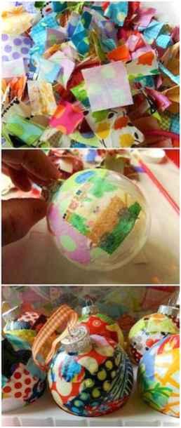 Easy DIY Christmas Ornaments Ideas 0007