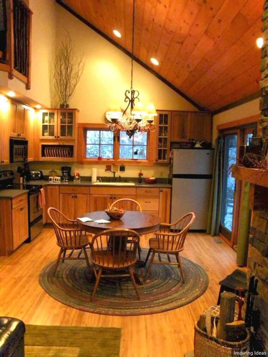 46 Small Cabin Cottage Kitchen Ideas22