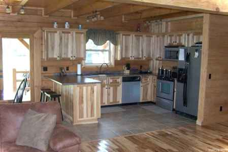 46 Small Cabin Cottage Kitchen Ideas32