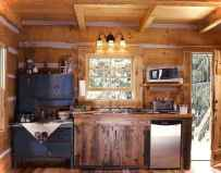 46 Small Cabin Cottage Kitchen Ideas34