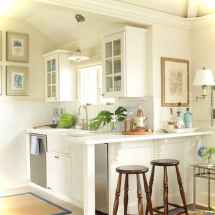 46 Small Cabin Cottage Kitchen Ideas38