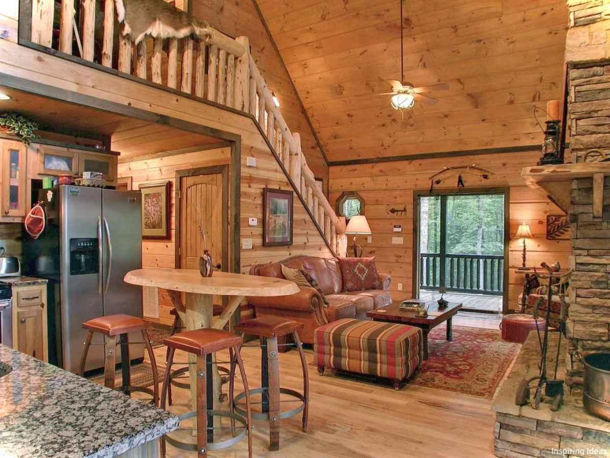 46 Small Cabin Cottage Kitchen Ideas42