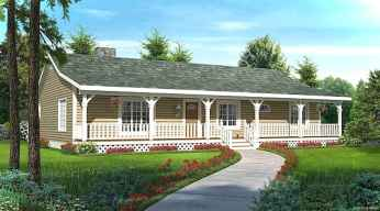 Awesome Cottage House Exterior Ideas Ranch Style 05