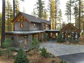 Awesome Cottage House Exterior Ideas Ranch Style 32