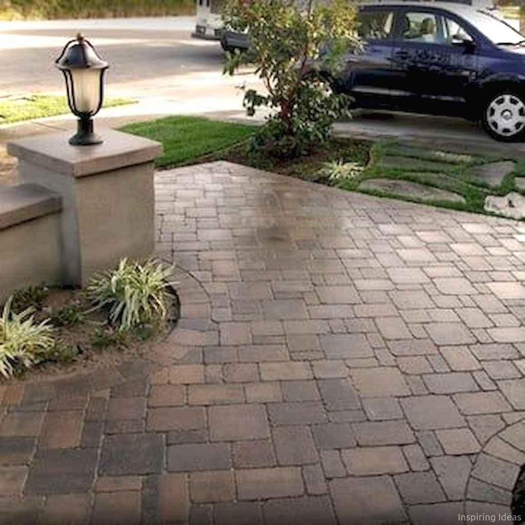 Paver Walkways Ideas for Backyard Patio 26