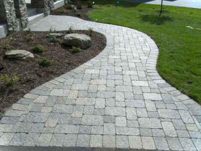 Paver Walkways Ideas for Backyard Patio 31