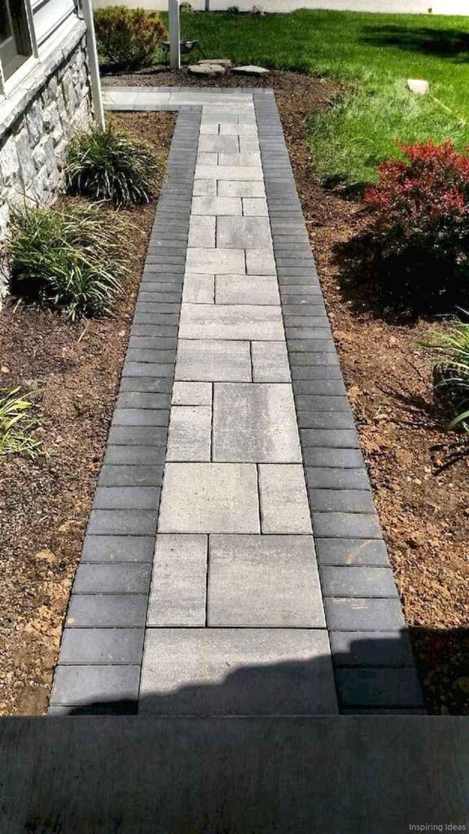 Paver Walkways Ideas for Backyard Patio 55