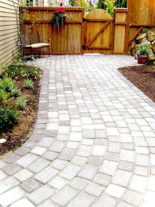 Paver Walkways Ideas for Backyard Patio 68