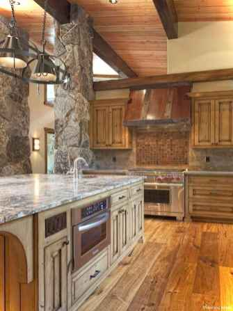 Rustic Cottage Kitchen Cabinets Ideas25